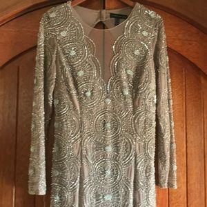 Aidan Mattox floor length gown
